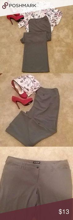 "💥Lane Bryant Olive Green Pants💥 Lane Bryant Olive Green Pants Inseam 30"" Lane Bryant Pants Boot Cut & Flare"