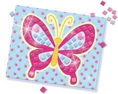 SES Glitter dreams - glitter mosaic #glitterdreams #glitter #mosaic #creative #mozaïek #butterfly