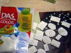 Pequeñeces: Efectos metálicos con pinturas acrílicas Snack Recipes, Snacks, Trifle, Pop Tarts, Decoupage, Mixed Media, Gisele, Biscuit, Color