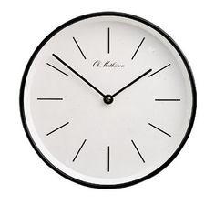 Ole Mathiesen OM2W wall clock