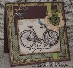 Enjoy Life by busyhoneybee - Cards and Paper Crafts at Splitcoaststampers