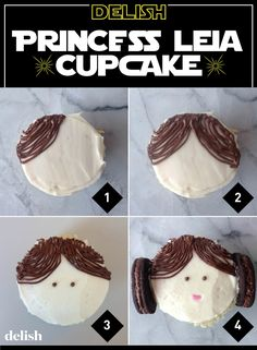 Celebrate+Star+Wars+Day+With+This+Princess+Leia+Cupcake++-+Delish.com