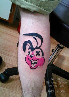 green day pink bunny rabbit tattoo / Random tattoo phone pics http://www.redregion.com/ -  http://aarron.com/