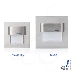 Comparision of Tango and Tango Mini, both stainless steel
