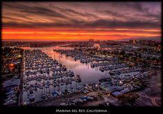Marina del Rey, California by szeke, via Flickr