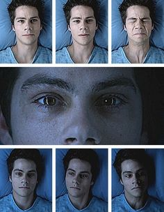 stiles to dark stiles within seconds!! AWESOME!!! creppy but he looks soooooo hoooooootttttt