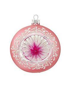 Dagmara Bauble Reflective Glass Ball Ornament