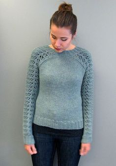 Ravelry: sarijaotto's Bloomsbury Sweater. I like this but, as we all know, I'm cheap and I have to LOVE something to buy a pattern LOL