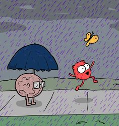 The Awkward Yeti : I never meant to cause you any sorrow I never meant to cause you any pain I only wanted one time to see you laughing I only wanted to see you Laughing in the purple rain Heart And Brain Comic, The Awkward Yeti, Akward Yeti, You Make Me Laugh, Music Heals, Humor Grafico, Animated Cartoons, Purple Rain, Funny Comics