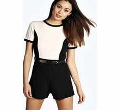 boohoo Contrast Gold Belt Playsuit - nude azz13367 Pick a playsuit for a fashion favourite that's easy to wear for every day and requires no effort on nights out. Strappy swing styles and basic jersey bandeaus are your saviour, and printed kimono slee http://www.comparestoreprices.co.uk/womens-clothes/boohoo-contrast-gold-belt-playsuit--nude-azz13367.asp