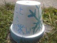 Earth Friendly Recycled Flower Pot Tea Light Space Heater,Survivalist Emergency Heater, Coffee Table Decor Custom Design, clay pot decor