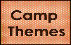 Summer Olympic: Camp Theme with games and activities.  @Pam Calvin