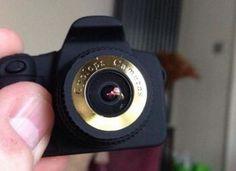 Lo-Fi Fisheye Digital Camera (Yellow)-the world s smallest fisheye camera