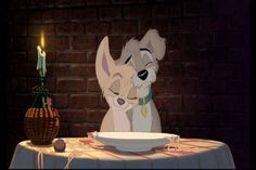 Angel and Scamp from Lady and the Tramp 2