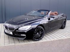 BMW 6-Series Convertible: Sport BMW 650i Cabrio but really any convertible will do