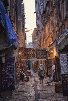 """"""" Old Sana'a - Yemen (von Rod Waddington) """""""