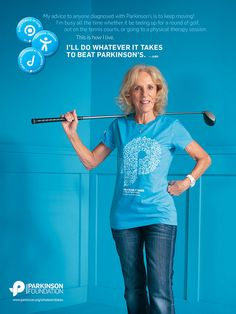 National Parkinson Foundation - Whatever It Takes:  Exercise