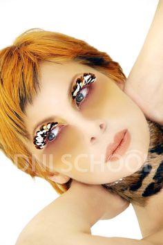 Trabajos de nuestras profesoras que imparten los cursos de Maquillaje Profesional del Máster de Maquillaje de 18 meses y el Máster de Asesoría de Imagen de 18 meses.