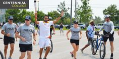 The 2015 torch arrives at Morningside Campus! Centennial College, Engineering Technology, Community College, Toronto, News, College