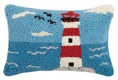 Lighthouse Hook Pillow