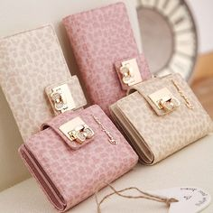 New Arrival Fashion Concise Beautiful Women Wallet
