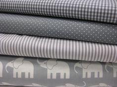 Stoffpakete+♥+4+Stk+0,5x0,7m+graue+Muster,+100%+BW+von+Schwesterlich+auf+DaWanda.com