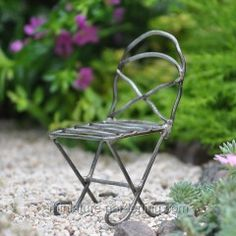 Mini Bistro Metal Chair  $2.49