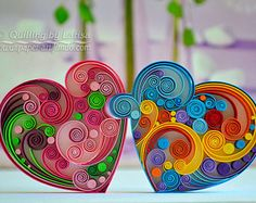 Wandkunst Quilling Kunst Quilling Papier Quilling Herz Liebe The Research Paper Idea But this is not Arte Quilling, Paper Quilling Jewelry, Paper Quilling Patterns, Quilled Paper Art, Quilling Paper Craft, Paper Quilling For Beginners, Quilling Techniques, Quilling Images, Art Mural
