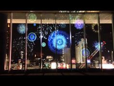 FIREWORKS by NAKED ーブロジェクションマッピング - YouTube