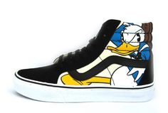 Disney X Vans SK8 Hi Donald Duck & Mickey Mouse Skateboard Shoes [V999] : Stylish vans skateboard shoes online outlet