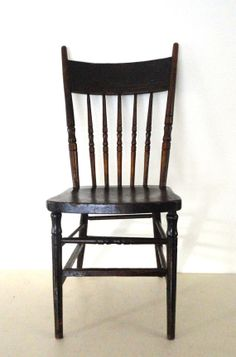 antique wooden chair pressed back spindled chair in a by kimbuilt 9900 antique swivel office chair