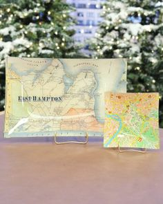 Turn an antiqued map (or decorative paper) into a stylish tray with artist Ben Busko's easy decoupage method.