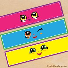 Shopkins free party printables for waters