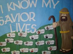 lost sheep bulletin board | 2010 Primary Bulletin Board Ideas