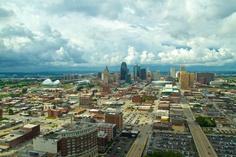 A Stormy View of Kansas City Missouri
