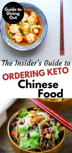While it may not be easy to eat low carb at your favorite Chinese restaurant, we've put together our best guide to ordering Keto Chinese food. Chinese Food Take Out, Order Chinese Food, Low Carb Chinese Food, Healthy Chinese Recipes, Low Carb Restaurant Options, Low Carb At Restaurants, Fast Food Low Carb, Keto Fast Food Options, Chinese Food Restaurant
