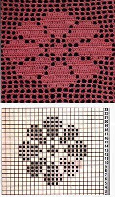 Одноклассники Granny Square Crochet Pattern, Crochet Flower Patterns, Doily Patterns, Weaving Patterns, Crochet Squares, Crochet Motif, Crochet Doilies, Crochet Stitches, Cross Stitch Patterns