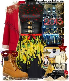 """""""Happy new year for all my polyvore friends =D"""" by dalo0ola ❤ liked on Polyvore"""