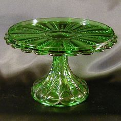 us glass florida cake stand - Google Search