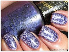 OPI Can't Let Go, CC Fashion Addict & CH12