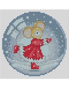 Furry Tales -  Christmas Cross Stitch Pattern - PDF Download Chart Cross Stitch Bird, Cross Stitch Charts, Cross Stitch Designs, Cross Stitching, Cross Stitch Embroidery, Cross Stitch Patterns, Christmas Embroidery, Back Stitch, Christmas Cross