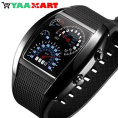 Very Unique Men's LED Digital Sports Watch. #watch #LEDDigitalSportsWatch #SportsWatch
