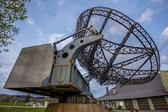 Preserved Würzburg Riese FuMO 214 radar, Fliegerhorst Lister (Lista), Norway