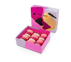 French Art to Kiss #Macarons #SaintValentin #FAUCHON #MadeinF