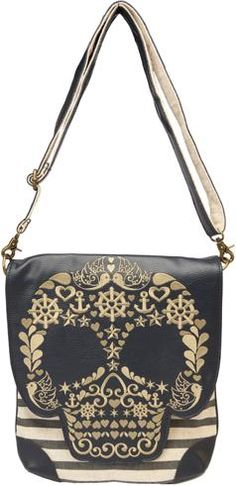 LOUNGEFLY ANCHOR SKULL BAG in Bags at Sourpuss Clothing Bags and Purses