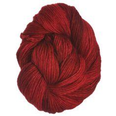 Malabrigo Worsted Merino Yarn - 611 - Ravelry Red