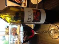 Somenos Red 2007 by Deol Estate Winery from the Cowichan Valley on Vancouver Island. Somenos Red is a 50/50 blend of Pinot Noir and Marechal Foch producing soft berry flavours with a floral aroma. It's a wonderfully delicate wine that pairs well with grilled meats, mushrooms and soft cheese.
