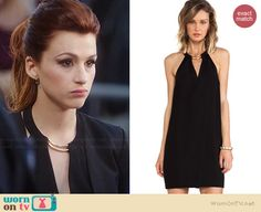Gretchen's black dress with front keyhole on You're the Worst Fashion Tv, Fashion Outfits, Best New Shows, You're The Worst, Shades Of Red Hair, Dress Codes, Street Wear, Cute Outfits, Style Inspiration