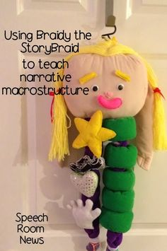 Speech Room News: Braidy, the StoryBraid-Product Review. Using Braidy to teach narrative macrostructure. Pinned by SOS Inc. Resources http://pinterest.com/sostherapy.
