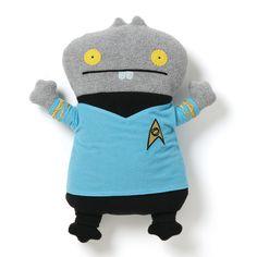 "Ugly Doll Star Trek Series - Babo Dr. McCoy 12"""""